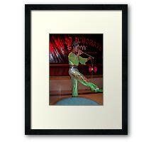 Beijing Acrobats Framed Print