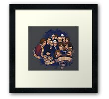 Doctors Who Framed Print