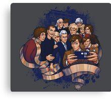 Doctors Who Canvas Print