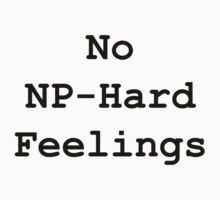 No NP-Hard Feelings by KimTaekYong
