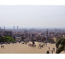 View of Barcelona Photographic Print