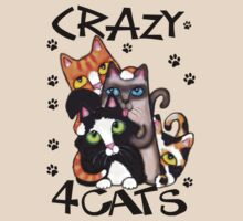Crazy Cat Lovers T-Shirt by Jamie Wogan Edwards