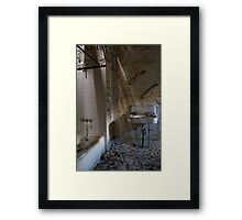 Asylum Sink #1: Male Ward Framed Print