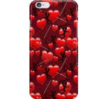 Cupids and Hearts .. pillows, totes, cases, mugs iPhone Case/Skin