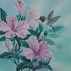 HUMMINGBIRD ORIGINAL OIL by SANDRA BROWN