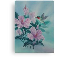 HUMMINGBIRD ORIGINAL OIL Canvas Print