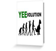 Yeevolution Greeting Card