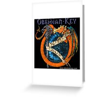 Obsidian Key - SLY Dragon - Epic Style - (Branded) Greeting Card