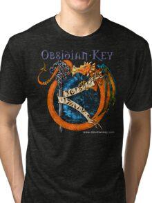 Obsidian Key - SLY Dragon - Progressive Rock Metal Music - Epic Style - (Branded) Tri-blend T-Shirt