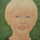 BRANDON ORIGINAL OIL PAINTING by SANDRA BROWN