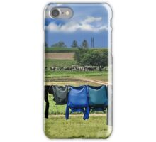 Wash Day In Amish Country iPhone Case/Skin
