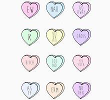 """Hate Hearts"" Design  Unisex T-Shirt"