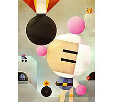 Bomberman remixed Photographic Print