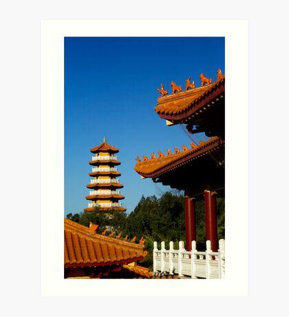 Nan Tien Buddhist Temple Art Print