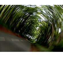 """""""In a Spin"""" Photographic Print"""