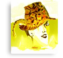 The Plumed Hat Canvas Print
