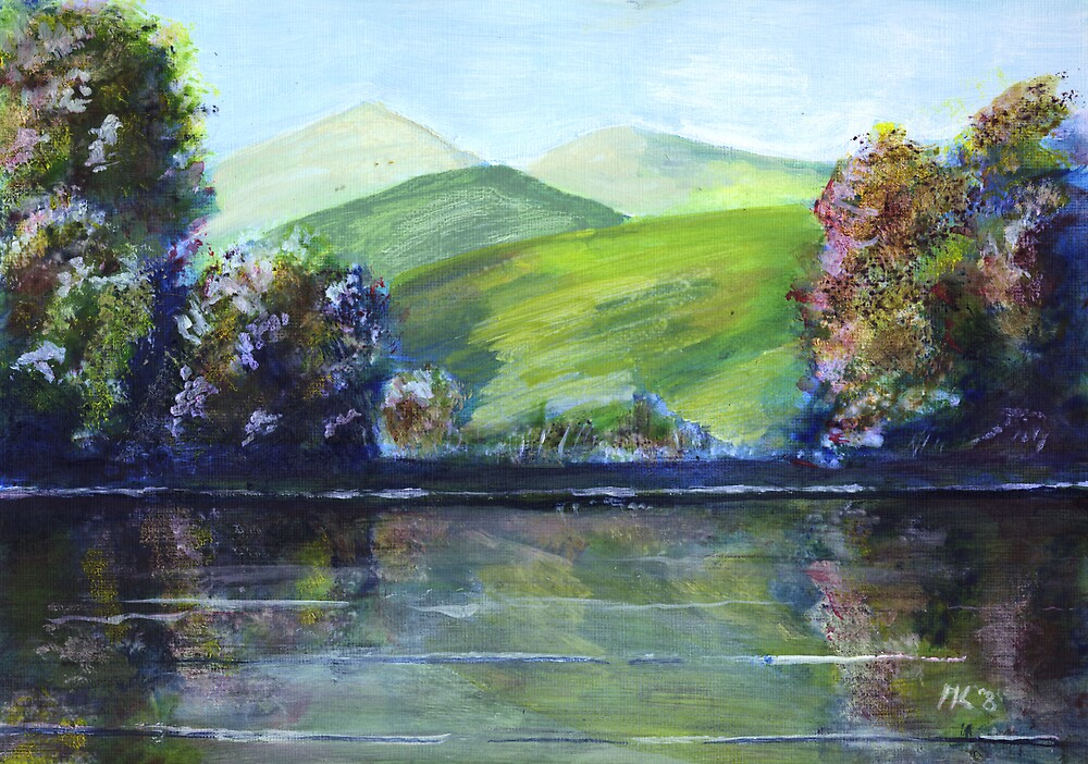 Reflections #1 by Martin Kirkwood