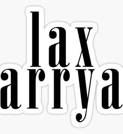 LAX LARRY Sticker