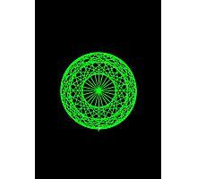 Caledo Green Sphere Photographic Print