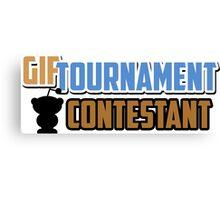 Gif Tournament Contestant  Canvas Print