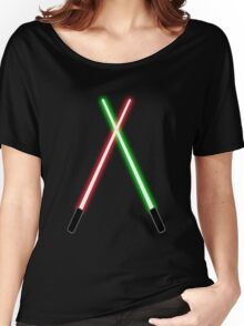 Lightsabers Women's Relaxed Fit T-Shirt