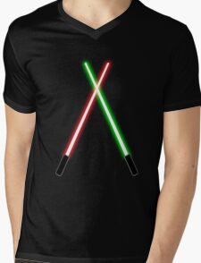 Lightsabers Mens V-Neck T-Shirt