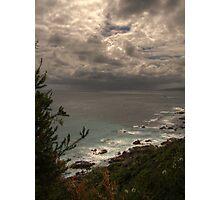 Distant Rain Photographic Print