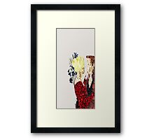 Captain Swan Once Upon A Time Framed Print