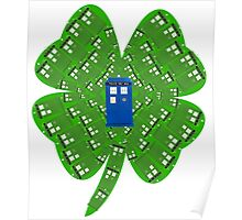 Luck of the TARDIS Poster