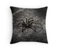 Mr Spidey Throw Pillow