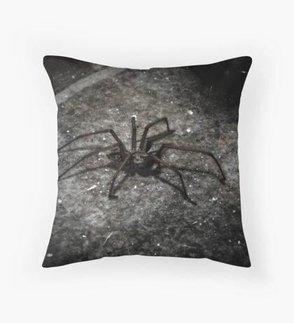 Mr Spidey Throw Pillow