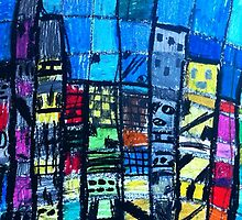 The skyscrapers. by Likkka