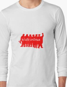 Paris 68 Uprising 1 Long Sleeve T-Shirt