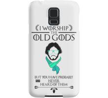 Hipster Jon Snow - Game of Thrones T-Shirt Samsung Galaxy Case/Skin