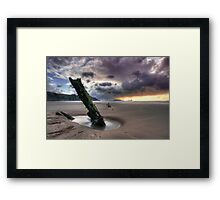 Halvetia resting place Framed Print
