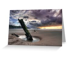 Halvetia resting place Greeting Card