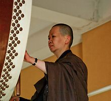 Nan Tien Buddhist Temple Drummer by Vanessa Pike-Russell