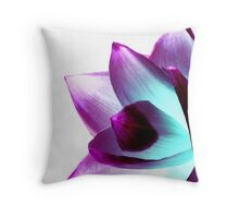 Flower - UK617/14 - www.lizgarnett.com Throw Pillow