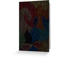 Abstract w.1 Greeting Card