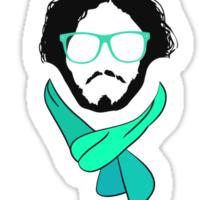 Hipster Jon Snow - Game of Thrones T-Shirt Sticker