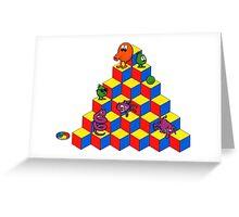 qbert Greeting Card