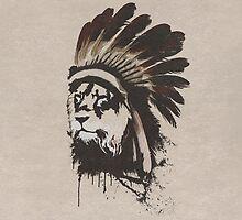 Lion Headdress by Alyn Spiller