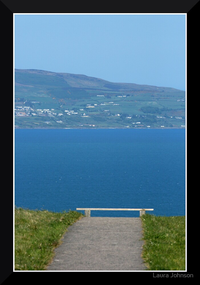 Bench with a View by Laura Johnson