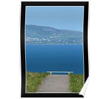Bench with a View Poster