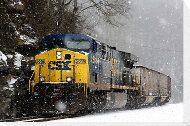 Snow Storm CSX by RosaMarieAshby