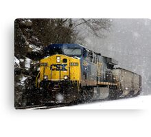 Snow Storm CSX Canvas Print