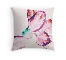 Christmas Holly I - www.lizgarnett.com Throw Pillow