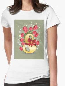 8 March Womens Fitted T-Shirt