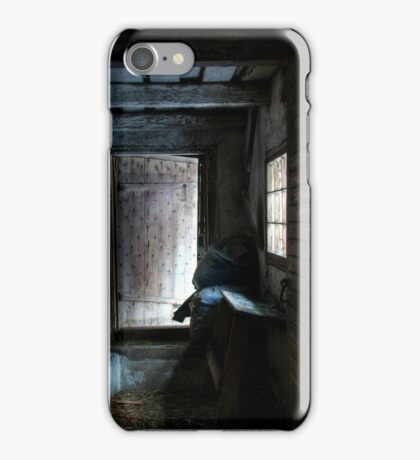 7.2.2015: Corridor in Abandoned Cowshed iPhone Case/Skin