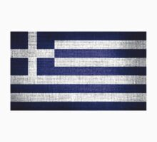 Greece Flag by Nhan Ngo